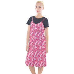 Phlox Spring April May Pink Camis Fishtail Dress by Pakrebo