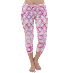 Traditional Patterns Hemp Pattern Capri Winter Leggings