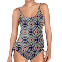 Pattern Wallpaper Background Tankini Set