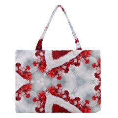 Christmas Background Tile Gifts Medium Tote Bag