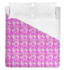 Maple Leaf Plant Seamless Pattern Pink Duvet Cover (queen Size) by Pakrebo