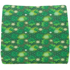 4 Leaf Clover Star Glitter Seamless Seat Cushion