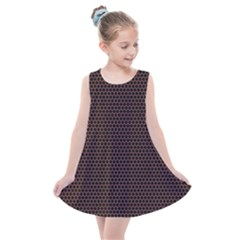 Hexagon Effect  Kids  Summer Dress by TimelessFashion