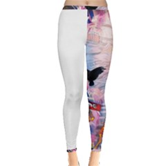 Crusified Inside Out Leggings