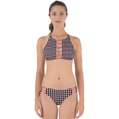 Square Effect Perfectly Cut Out Bikini Set