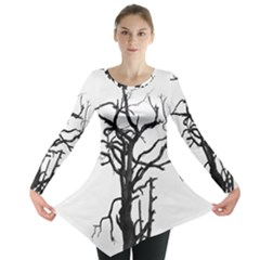 Bare Branches Long Sleeve Tunic  by WensdaiAddamns