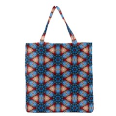 Pattern Tile Background Seamless Grocery Tote Bag