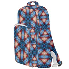 Pattern Tile Background Seamless Double Compartment Backpack by Pakrebo