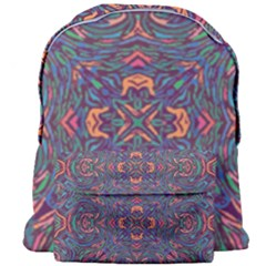 Tile Repeating Colors Textur Giant Full Print Backpack by Pakrebo