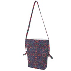 Tile Repeating Colors Textur Folding Shoulder Bag