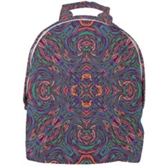 Tile Repeating Colors Textur Mini Full Print Backpack by Pakrebo