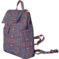Tile Repeating Colors Textur Buckle Everyday Backpack by Pakrebo