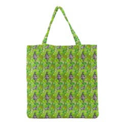 Maple Leaf Plant Seamless Pattern Grocery Tote Bag