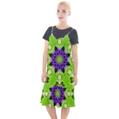 Pattern Abstract Background Art Green Camis Fishtail Dress