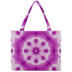 Pattern Abstract Background Art Purple Mini Tote Bag