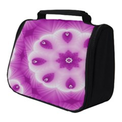 Pattern Abstract Background Art Purple Full Print Travel Pouch (small)