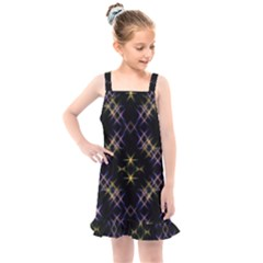 Seamless Background Abstract Vector Kids  Overall Dress