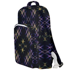 Seamless Background Abstract Vector Double Compartment Backpack