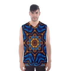 Pattern Abstract Background Art Men s Basketball Tank Top