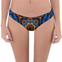 Pattern Abstract Background Art Reversible Hipster Bikini Bottoms
