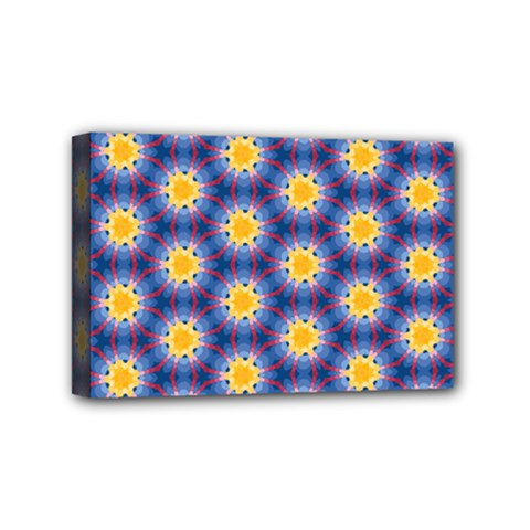 Graphic Pattern Seamless Mini Canvas 6  X 4  (stretched)