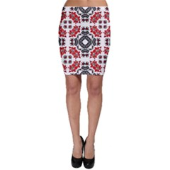 Ornament Seamless Pattern Element Bodycon Skirt