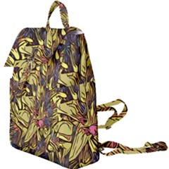 Lilies Abstract Flowers Nature Buckle Everyday Backpack