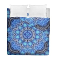 Fractal Mandala Abstract Duvet Cover Double Side (full/ Double Size)