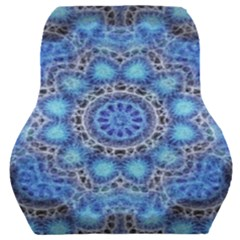 Fractal Mandala Abstract Car Seat Back Cushion