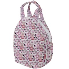 Graphic Seamless Pattern Pig Travel Backpacks