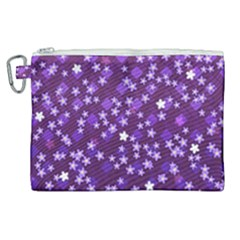 Textile Cross Pattern Square Canvas Cosmetic Bag (xl)