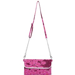 Cherry Blossoms Floral Design Mini Crossbody Handbag