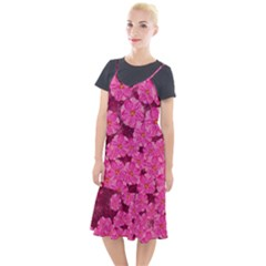 Cherry Blossoms Floral Design Camis Fishtail Dress by Pakrebo