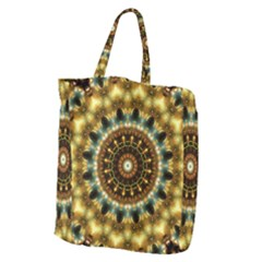 Pattern Abstract Background Art Giant Grocery Tote