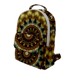Pattern Abstract Background Art Flap Pocket Backpack (large)