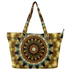 Pattern Abstract Background Art Full Print Shoulder Bag by Pakrebo
