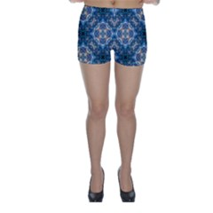 Graphic Pattern Bubble Wrap Bubbles Skinny Shorts