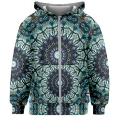 Pattern Abstract Background Art Kids  Zipper Hoodie Without Drawstring