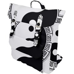 Yin Yang Eastern Asian Philosophy Buckle Up Backpack