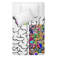 Brain Mind A I Ai Anatomy Duvet Cover Double Side (single Size) by Pakrebo