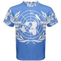 Flag Of Icao Men s Cotton Tee by abbeyz71