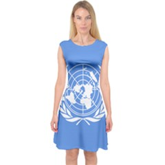 Flag Of Icao Capsleeve Midi Dress by abbeyz71