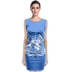 Flag Of Icao Sleeveless Velvet Midi Dress by abbeyz71