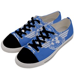 Flag Of Icao Men s Low Top Canvas Sneakers by abbeyz71
