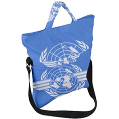Flag Of Icao Fold Over Handle Tote Bag by abbeyz71