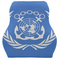 Flag Of International Maritime Organization Car Seat Velour Cushion  by abbeyz71