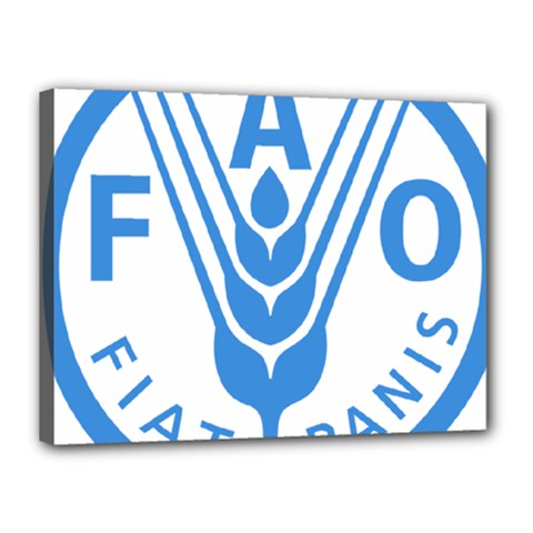 Logo Of Food And Agriculture Organization Canvas 16  X 12  (stretched) by abbeyz71