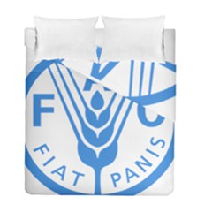 Logo Of Food And Agriculture Organization Duvet Cover Double Side (full/ Double Size)