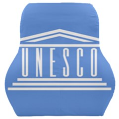 Flag Of Unesco Car Seat Back Cushion  by abbeyz71