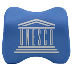 Flag Of Unesco Velour Head Support Cushion by abbeyz71